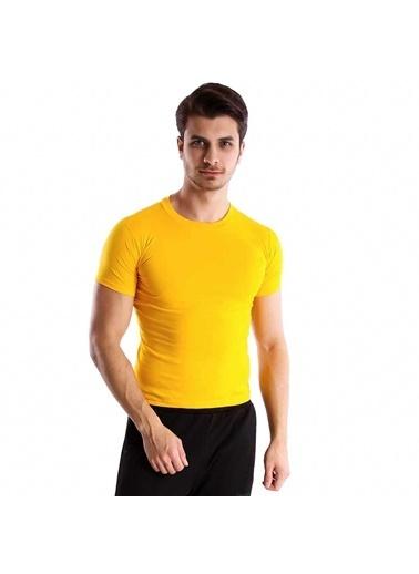 Sportive Tişört Sarı